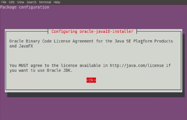 Java License Agreement