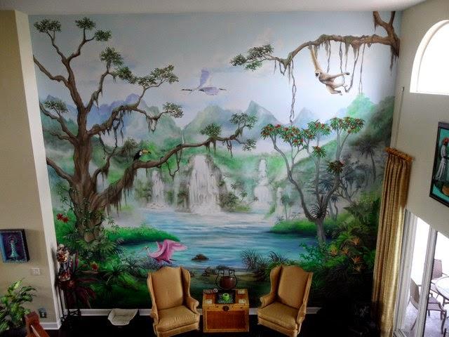 Pencarian pada Label :: Cara melukis mural dinding ...
