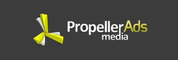 PropellerAds - plataforma de Anuncios rentable