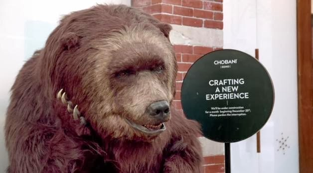 Chobani Greek Yogurt: Hungry bear loose in NYC Commercial