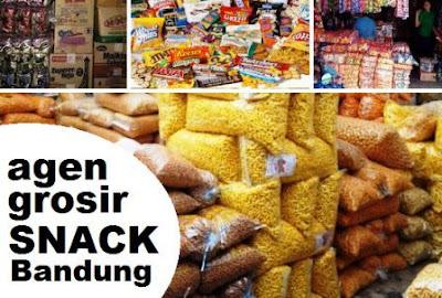 lokasi pusat jual grosir camilan - makanan ringan di Bandung