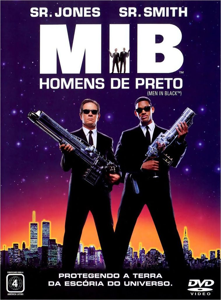 MIB – Homens de Preto - Full HD 1080p