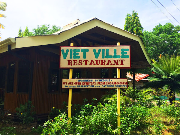 The Viet Ville Restaurant in Palawan