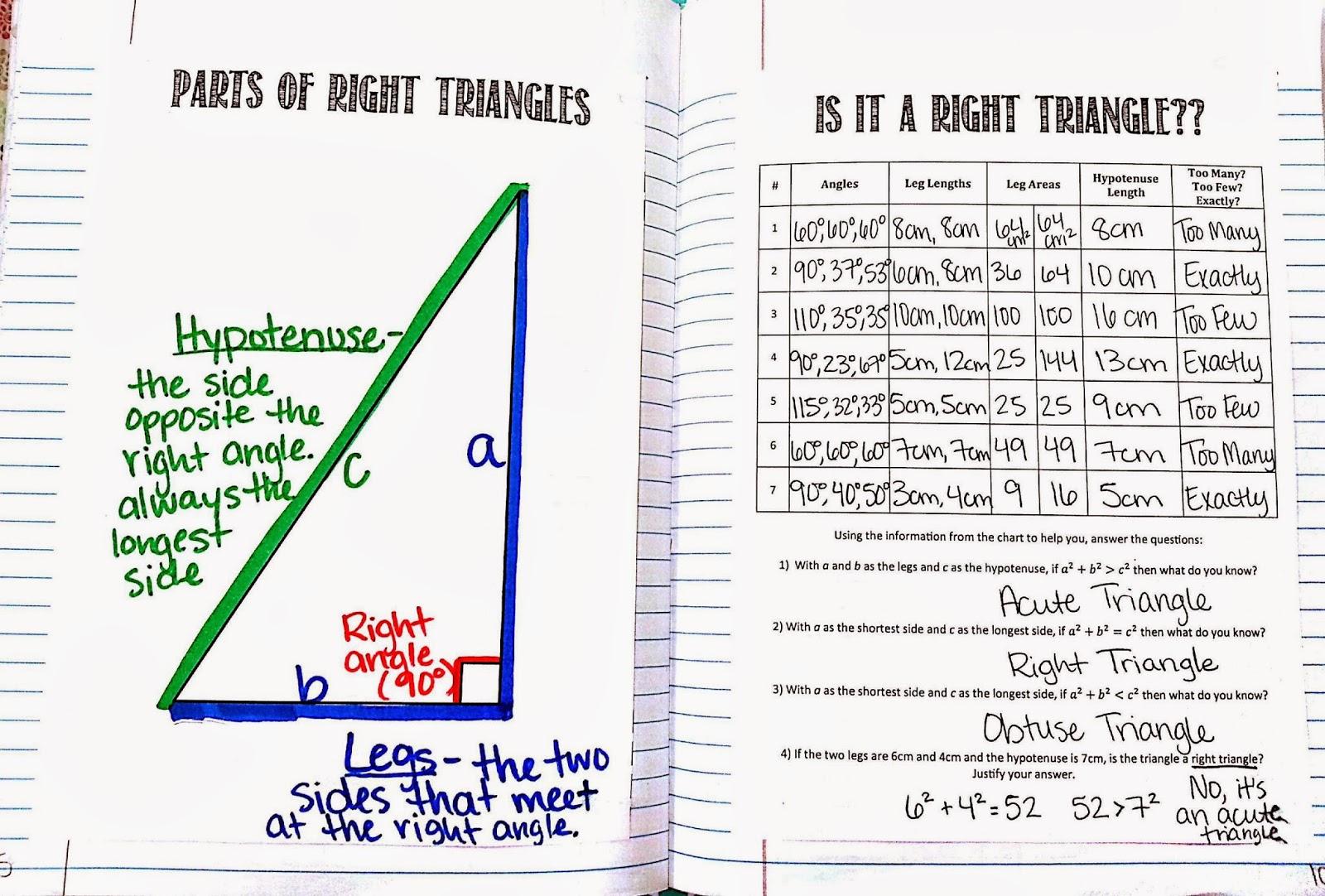 Mrs Hester S Classroom Pythagorean
