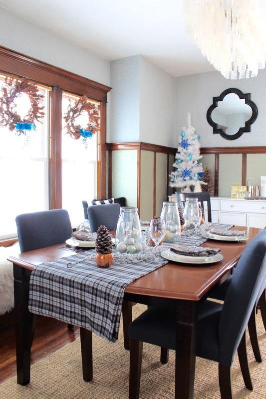 decor adventures holiday tablescape