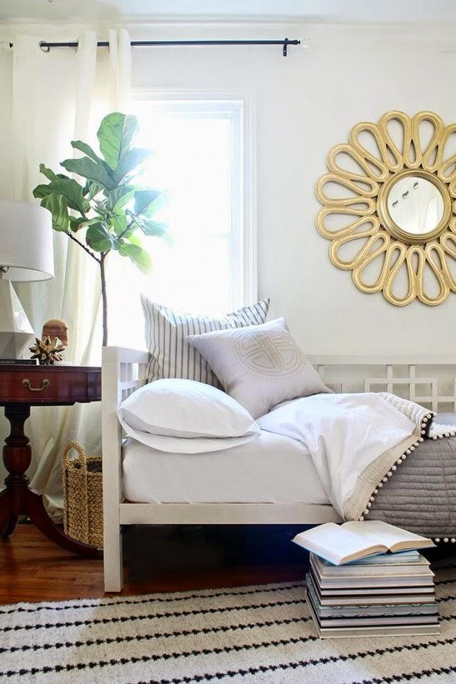 decoración cuarto invitados