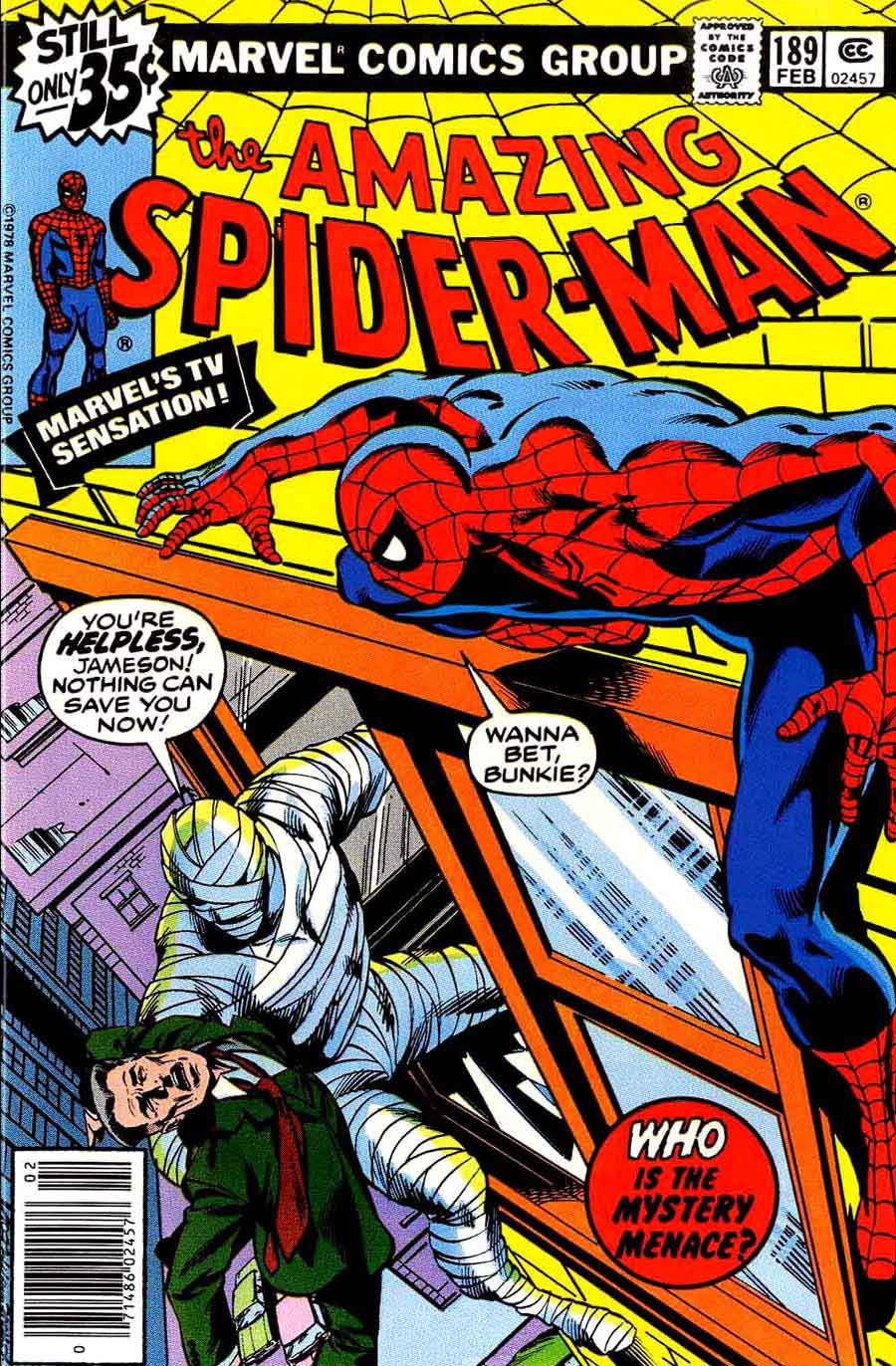 Amazing Spider-Man v1 #189 marvel comic book cover art by John Byrne