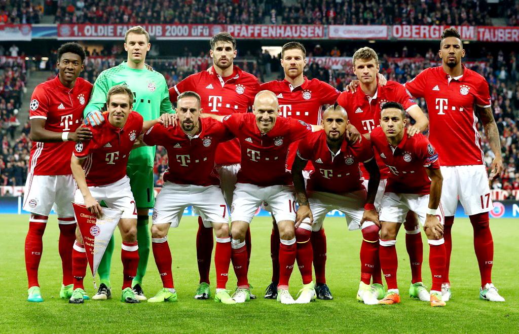Equipos De FÚtbol Bayern Munich Contra Real Madrid 12042017