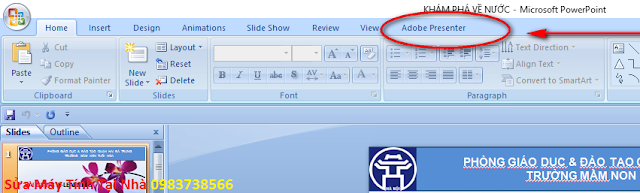 Lấy lại Presenter bị mất trong Powerpoint - H08