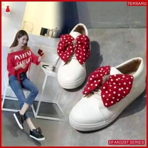 DFAN3287S39 Sepatu Dw 02 Poxing Wanita Pita Polkadot BMGShop