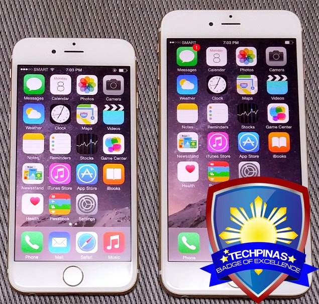 Apple iPhone 6 Philippines, Apple iPhone 6 Plus Philippines, TechPinas Badge of Excellence