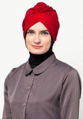 Model hijab turban modern tren saat ini image