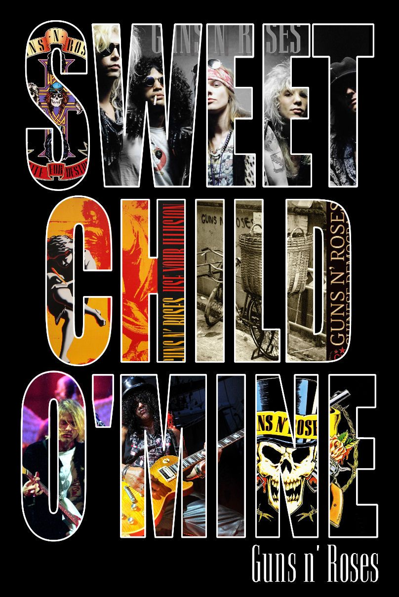 Download Lagu Sweet Child O Mine : download, sweet, child, Percetakan:, Download, Roses, Sweet, Child
