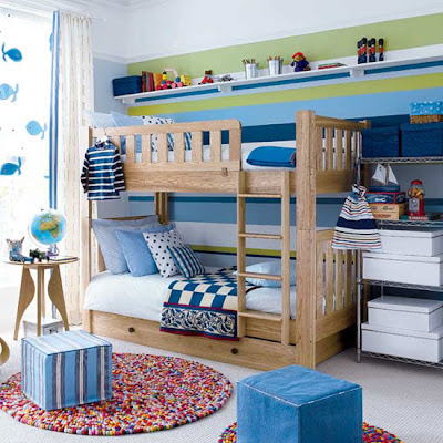 Blue Boy's Bedroom Decor Ideas
