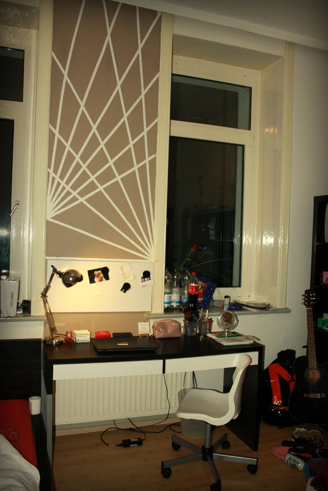 wand streichen muster abkleben wand streichen muster. Black Bedroom Furniture Sets. Home Design Ideas