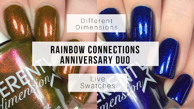 Different Dimension Rainbow Connection Anniversary Duo
