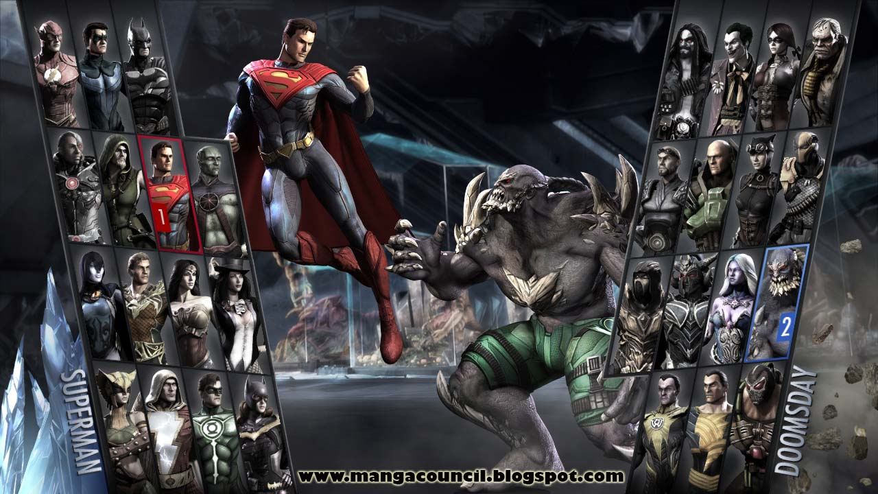 Injustice Gods Among Us Ultimate Edition Save Game | Manga Council