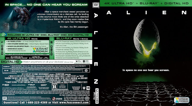 Alien (1979) Bluray Bluray Cover