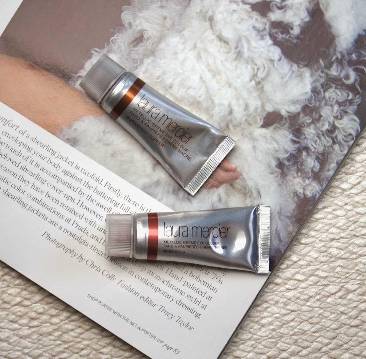 laura mercier metallic creme eye colour review swatches