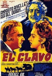 Película: El clavo 1944 | Cartel | Carátula