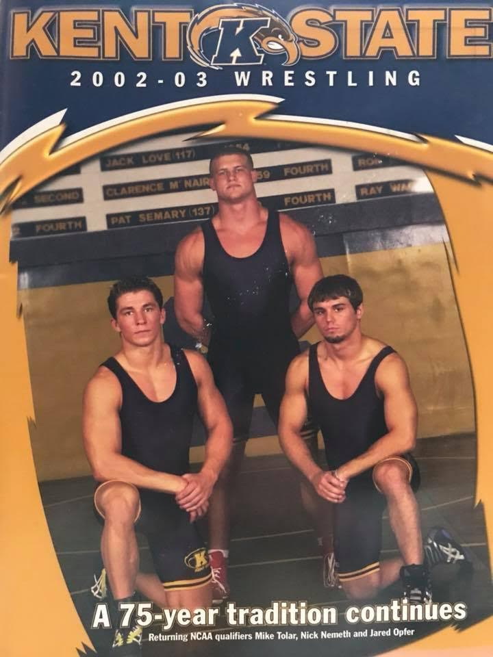 Dolph Ziggler aka Nick Nemeth at age 22 during his years as an amateur wrestler.  STRENGTHFIGHTER.COM