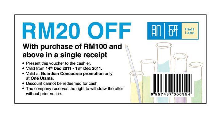 BestLah Hada Labo - FREE RM20 Discount Voucher