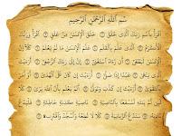 Bacaan Surat Al-Alaq Dan Terjemaahannya Dalam Bahasa Indonesia