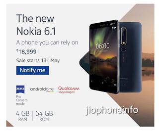 Nokia 6 2018 Pre Registration