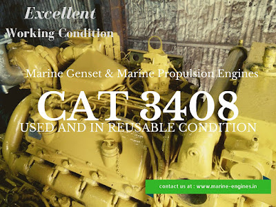 used, second hand, 3408, CAT, Caterpillar, marine, engine, motor, moteur, motori, marina, generator