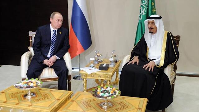 """Arabia Saudí se acerca a Rusia al ver a Al-Asad ganador en Siria"""