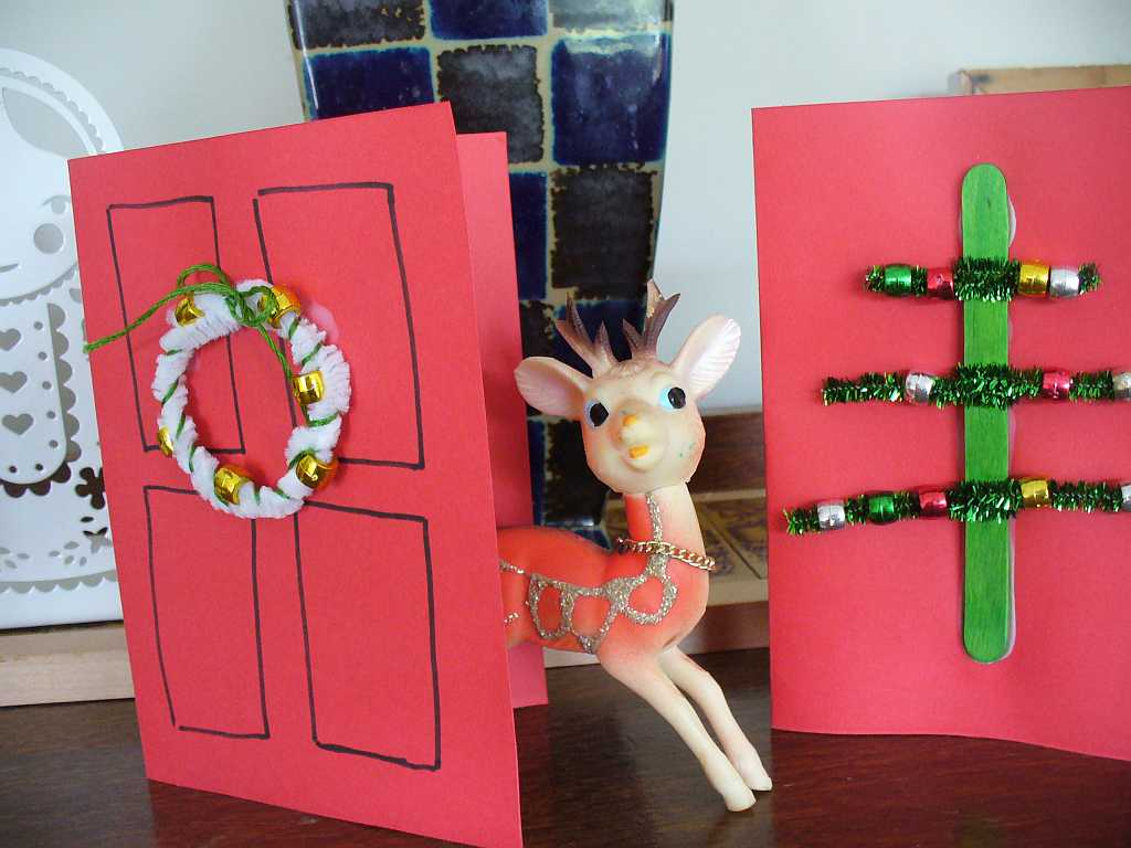 Christmas Cards For 4 Year Olds