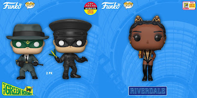 San Diego Comic-Con 2018 Exclusive Television POP! Vinyl Figures by Funko – Riverdale, Parks & Recreation, Green Hornet