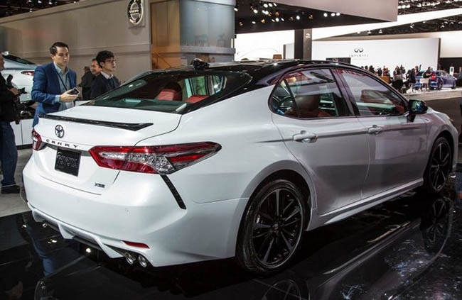 2018 Toyota Camry Performance Toyota Overview