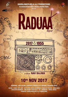 Raduaa First Look Poster