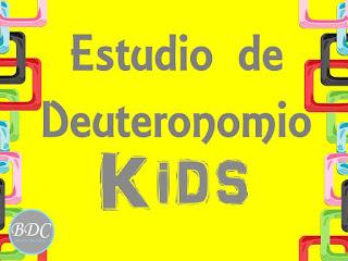 Estudio de Deuteronomio para mujeres, recursos bíblicos gratuitos para descargar. Devocional infantil. Ministerio Buenos Días Chicas.