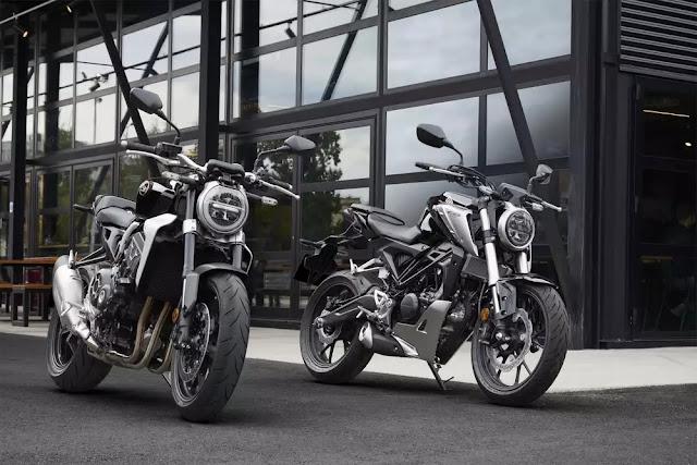 Honda CB125R dan CB300R