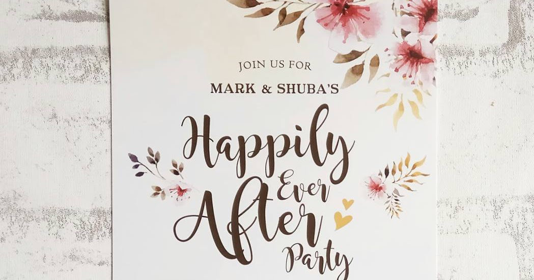Happily Ever After Wedding Invitations: Crafty Farms Handmade : Happily