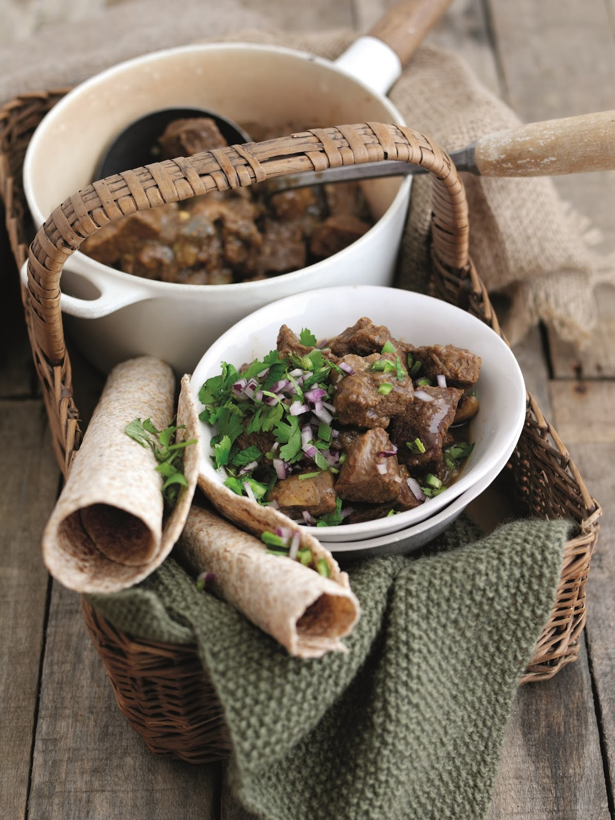 Welsh Lamb Curry With Aubergine & Figs