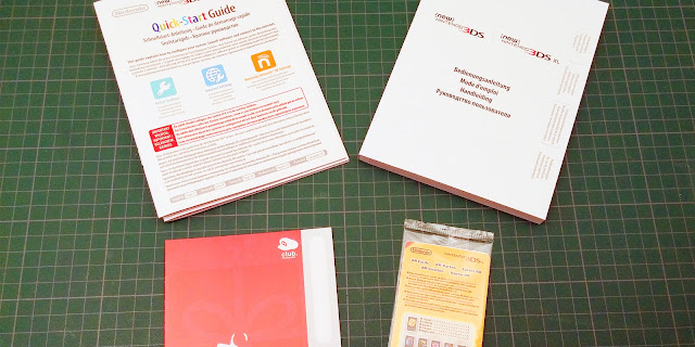 Photo des documents inclus dans le pack New 3DS XL Zelda Majora's Mask 3D édition collector
