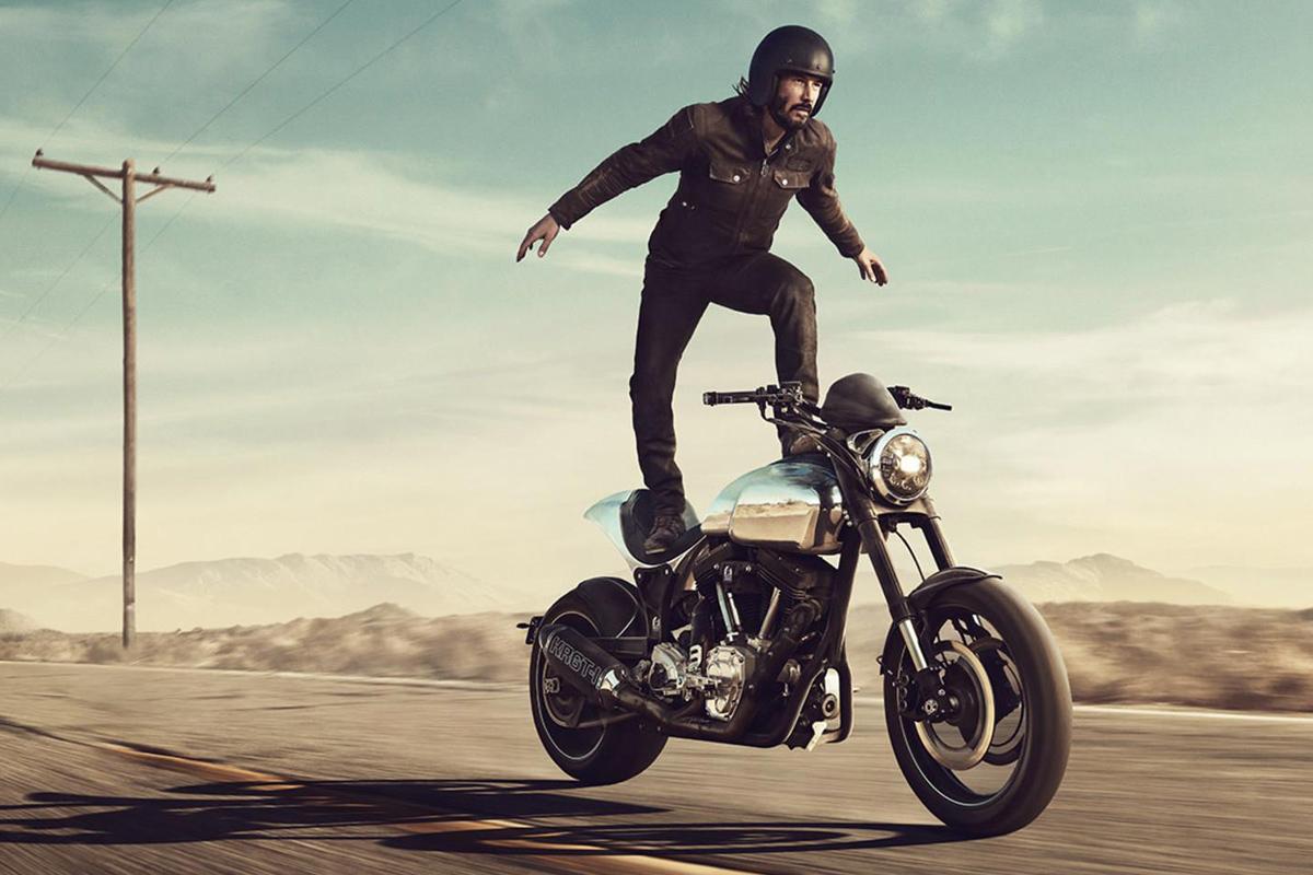 Keanu Reeves Motorcycles - Arch Method 143   Return of the ...