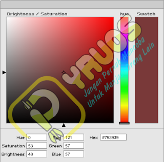 Tools Kode Warna Otomatis HTML