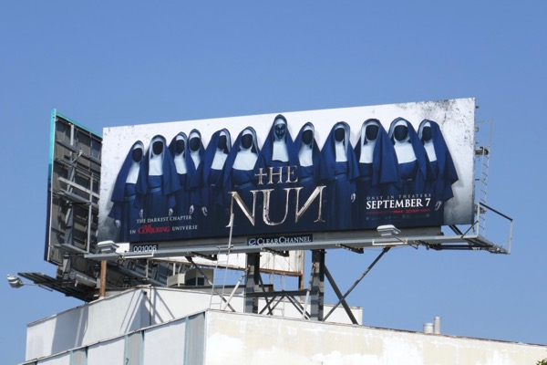 Nun movie billboard