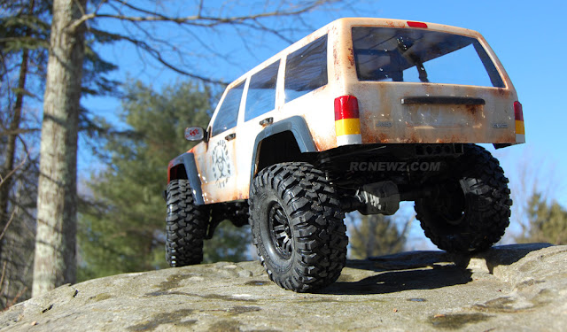 building the Traxxas TRX-4