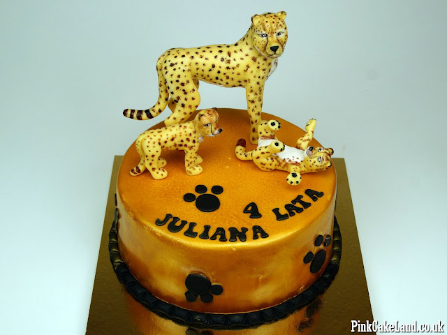 Cheetah Cake London