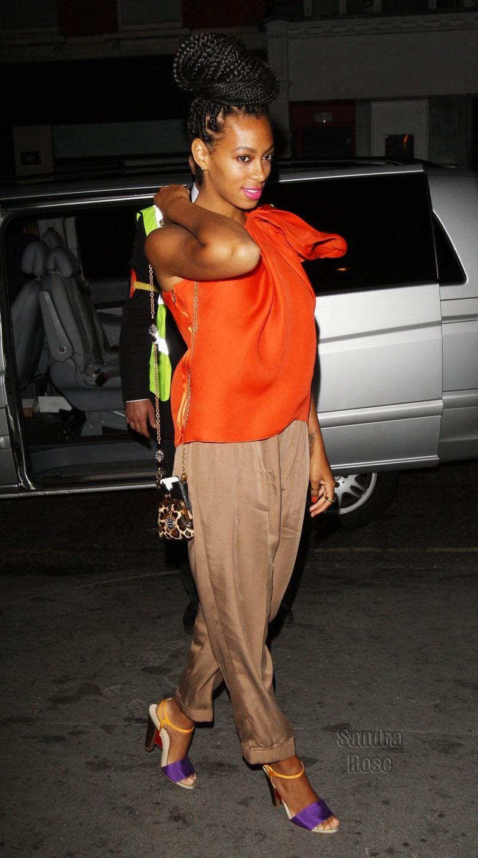 Fashionb Elle Fashion Icon Alert Solange Knowles