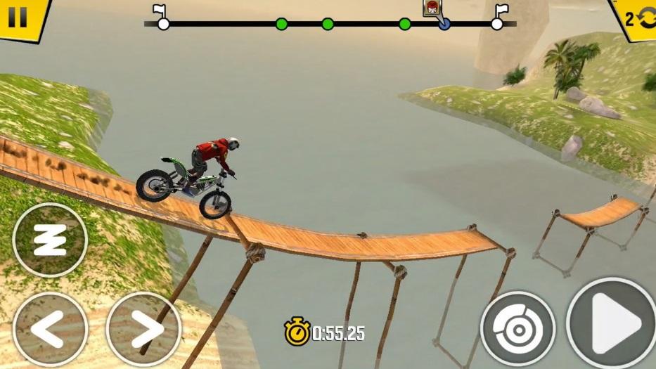 Trial Xtream 4 APK bridge