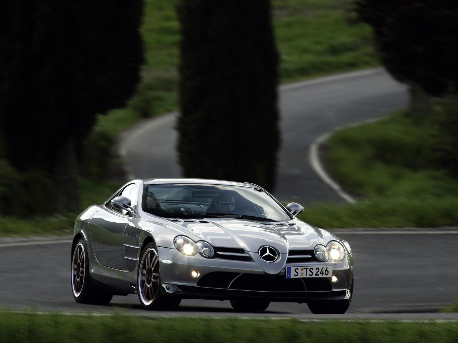 Mercedes Mercedes Mclaren Slr 722