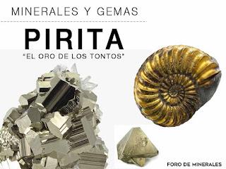 Pirita mineral - propiedades y caracteristicas | foro de minerales