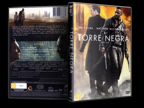 Capa DVD A Torre Negra