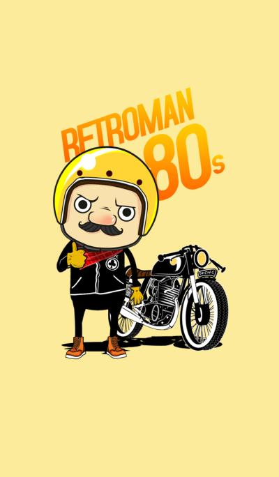 RetroMan 80's Theme
